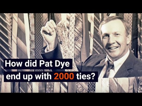 The story of how Pat Dye got 2,000 ties after the 1988 Sugar Bowl