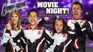 AVENGERS ENDGAME MOVIE NIGHT!!! Thanos Goes Bowling!