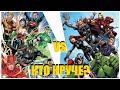 Лига Справедливости против Мстителей (Оригинальные составы) Бой Века! ШОК! (Кто Круче? №10)