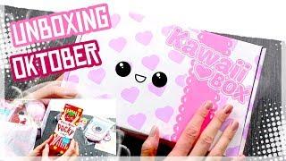 Unboxing Kawaii Box Oktober