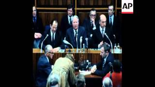 SYND 2-3-73 EDWARD HEATH MEETS WEST GERMAN CHANCELLOR FOR TALKS ON THE MONETARY CRISIS