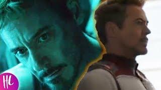Avengers Endgame Trailer 2 Reveals Tony Stark Dies?   Hollywoodlife