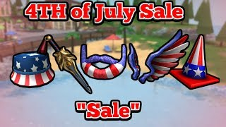 "4th of July ""Sale"" on Roblox.."