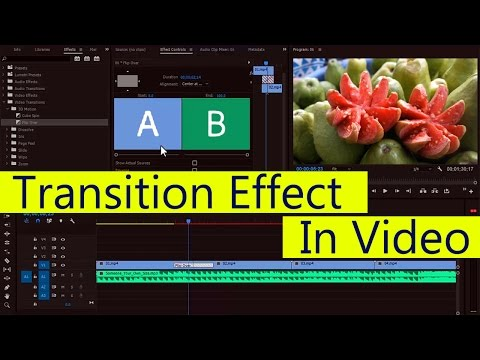 #EP-14 Video Transition Effect  in Adobe Premiere Pro [HINDI]