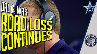 Cowboys Offensive Line and Dak Prescott Lose Game at Washington | Cowboys vs Redskins Postgame