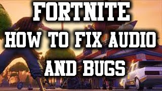 FORTNITE VOICE CHAT / MIC NOT WORKING FIX (PC) 2019