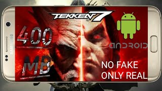 (400MB)How To Download Tekken 7 For Android