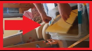 Вощина своими руками / Изготовление  восковых заготовок под вощину, листов, пластин