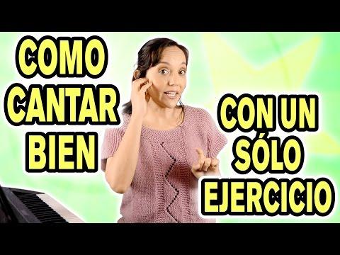 Como aprender a cantar bien con un sólo ejercicio 🎤