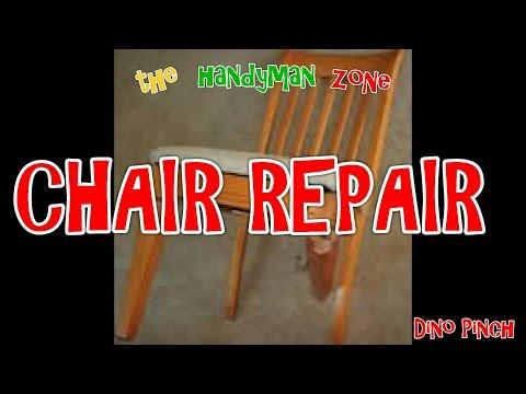 Cracked Chair Leg Repair