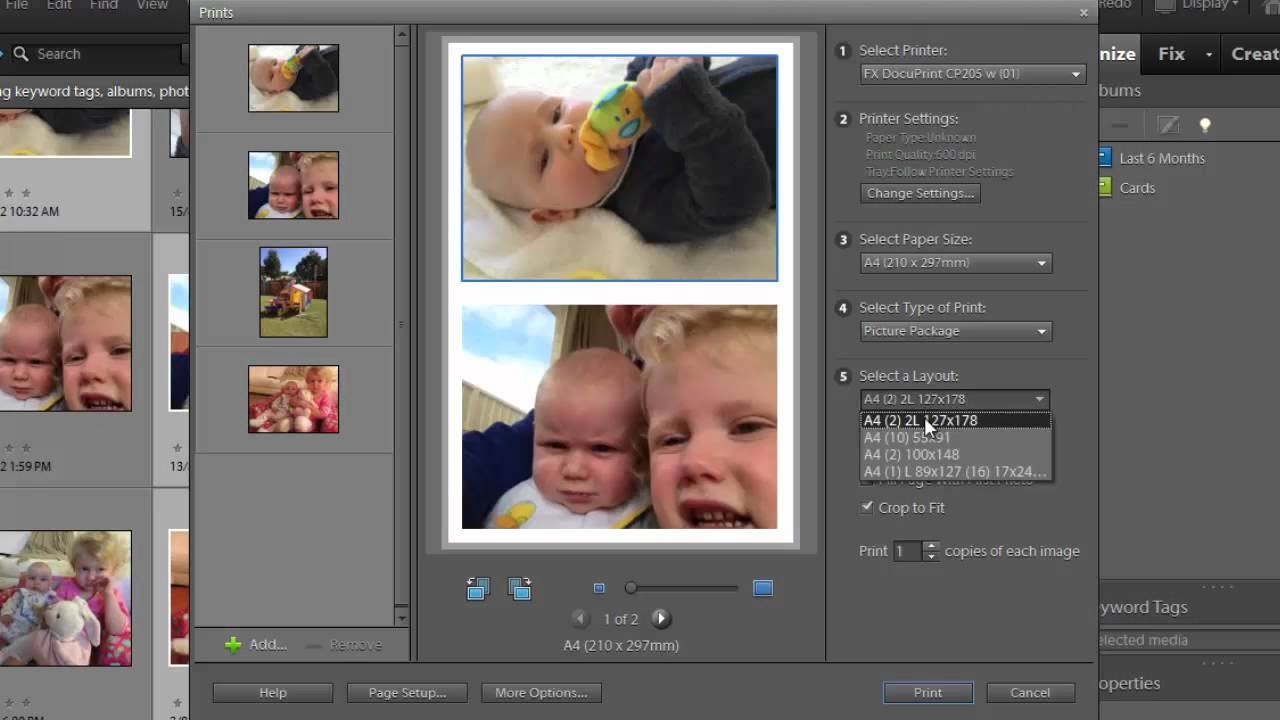 How to add two photos side by in photoshop