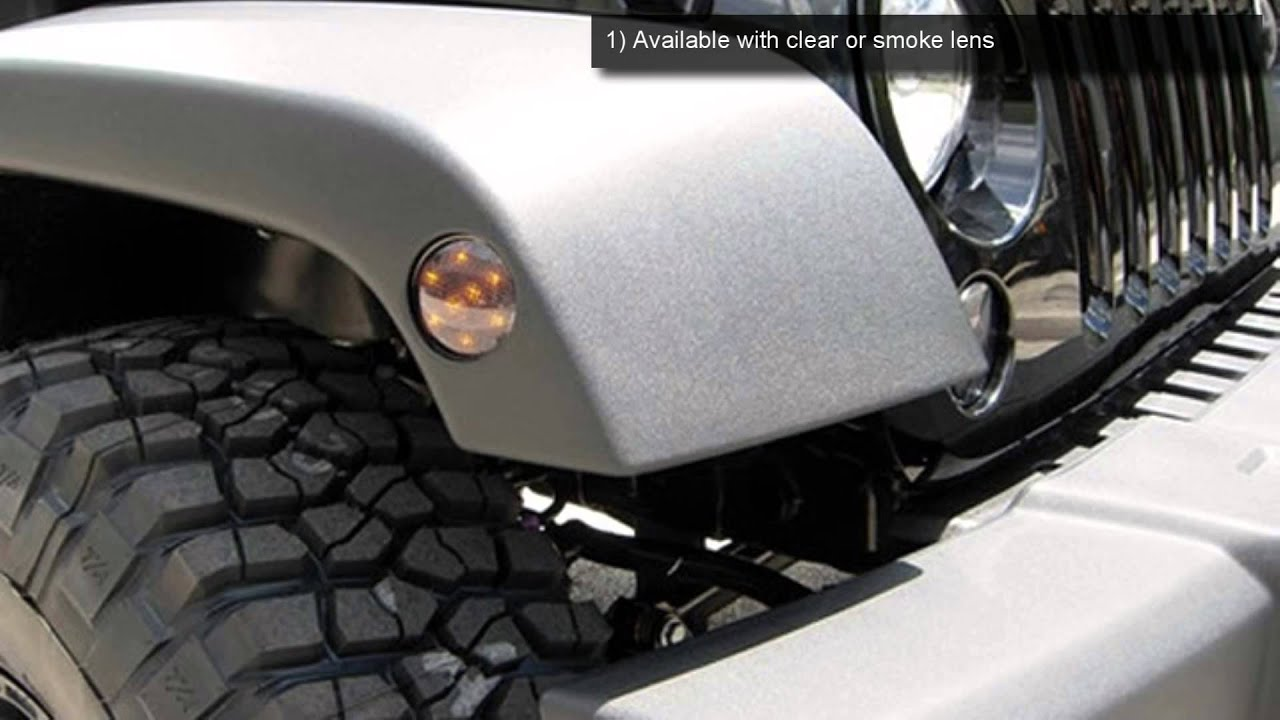 Recon Led Front Turn Signals And Fender Flare Side Marker