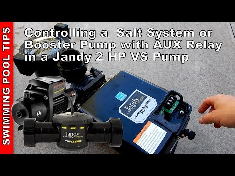 Controlling a Salt System or Booster Pump with the AUX Relay ... on