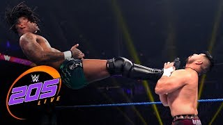 "Isaiah ""Swerve"" Scott vs. Raul Mendoza: WWE 205 Live, Jan. 17, 2020"