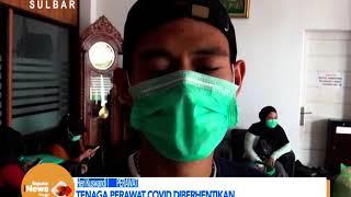 Tenaga Perawat Covid Diberhentikan | Seputar iNews Sulbar | 08-09-2020