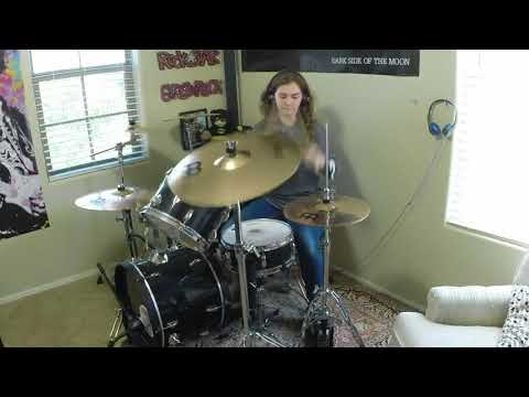 """Royal Blood """"Out of the Black"""" a drum cover by Emily"""