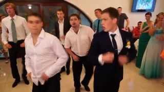 Подарок невесте на свадьбу!!!Танец Жениха=))))Взорвали зал))ФЕЕРИЯ!!!