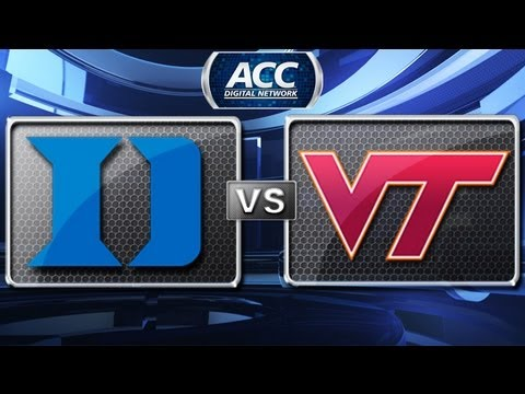 Duke vs Virginia Tech Highlights - 2012