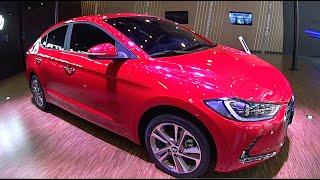 2016, 2017 Hyundai Elantra video review