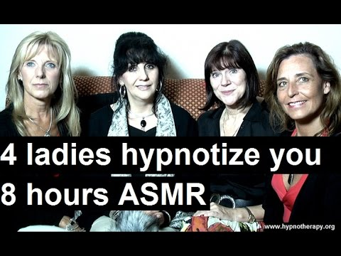 4 ladies hypnotize you to sleep for 8 hours #hypnosis #ASMR #NLP #relaxation #hypnotherapy