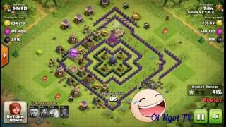 Trâ-n Đa-nh Ha-i Bư-a Nhâ-t Clash Of Clans