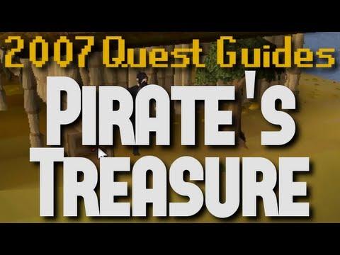 Runescape 2007 Quest Guides: Pirate's Treasure