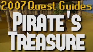 Runescape 2007 Quest Guides: Pirate