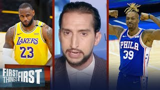 'Age is not the concern for LeBron's Lakers' — Nick on L.A.'s blockbuster trade | FIRST THINGS FIRST