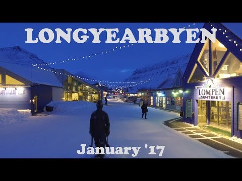 A Winter's Day in Longyearbyen, Svalbard