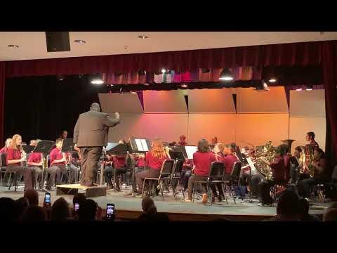 Rhodes junior high school Cadet band