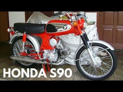 Motovlog Motor Classic Jadul nan Tua Honda s90 1969