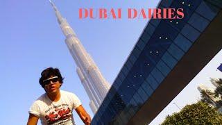 Dubai Dairies  | Dubai Metro | Dubai Mall |  Burj Khalifa  | Vlog # 5 by George Kerketta