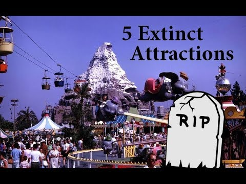 5 EXTINCT Disneyland Attractions That We All Miss