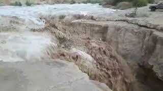 תחילת שיטפון בנחל צין