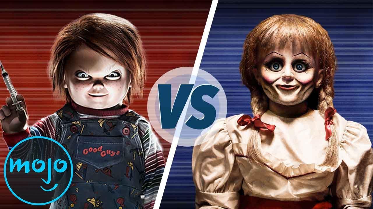 Chucky Vs Annabelle The Ultimate Horror Movie Doll Youtube