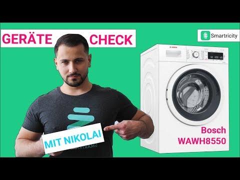 Review: Bosch WAWH8550 im Test. Ein guter Kauf? [2019]