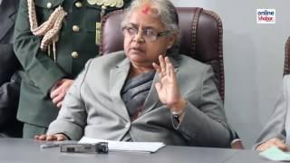 First woman chief justice Sushila Karki
