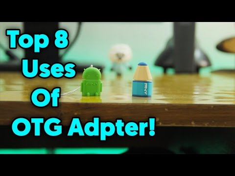 Top 8 Uses of OTG Adapter!