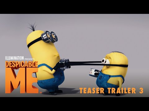 Despicable Me Teaser Trailer 3 Youtube