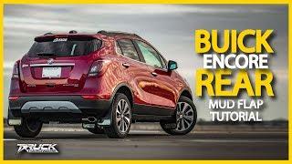 2018 Buick Encore Rear Mud Flap Installation