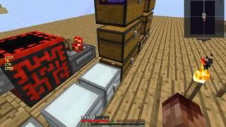 ftb sky factory 3 crucible lava generator auto hammer and auto sieve