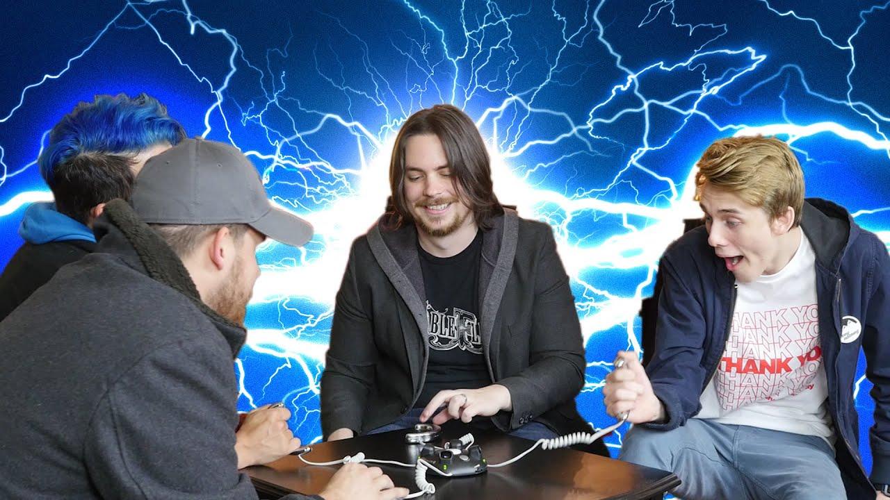 Electro Shock Challenge w/ EGORAPTOR