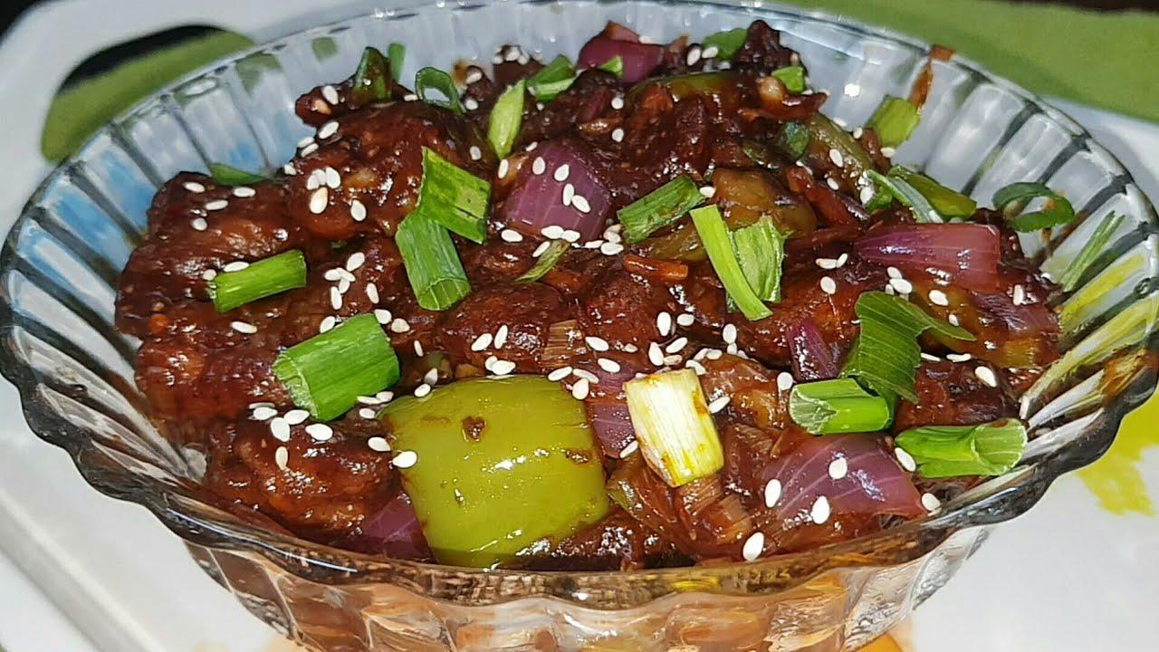 Chilli Chicken Dry Recipe(Tamil) - YouTube