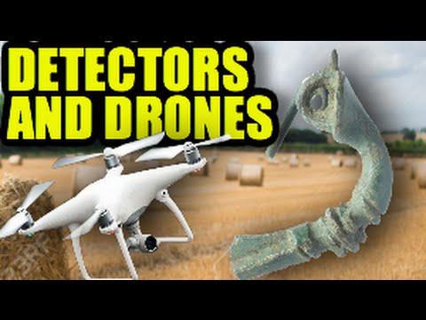 Detectors and Drones. My Phantom and Deus nails it!