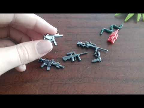 видео: Обзор военных лего минифигурок.