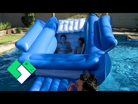 Thumbnail: World's Largest Inflatable Chair (Day 1961)
