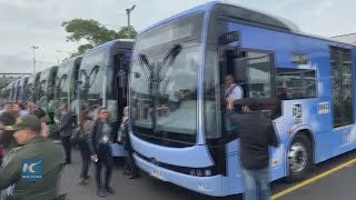 Medellin going electric with Chinese made buses