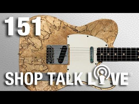 STL 151: End Grain Guitars and Shop Storage