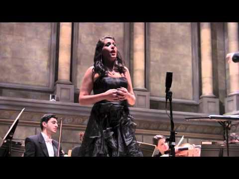 Nadia Fayad - Brahms Alto Rhapsody - Eastman School Symphony Orchestra - Lee Wright, cond.