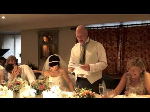 An amazing father of the bride's speech